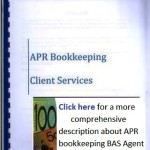 APR bookkeeping BAS Agent services